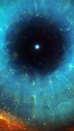 Wallpaper Galaxy Eye Center Space Stars