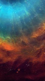 Wallpaper Galaxy Eye Space Stars Color