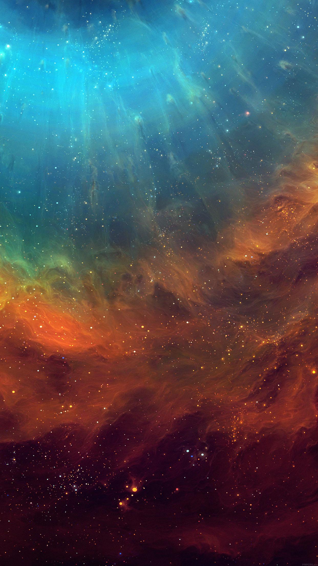 Wallpaper Galaxy Eye Space Stars Color