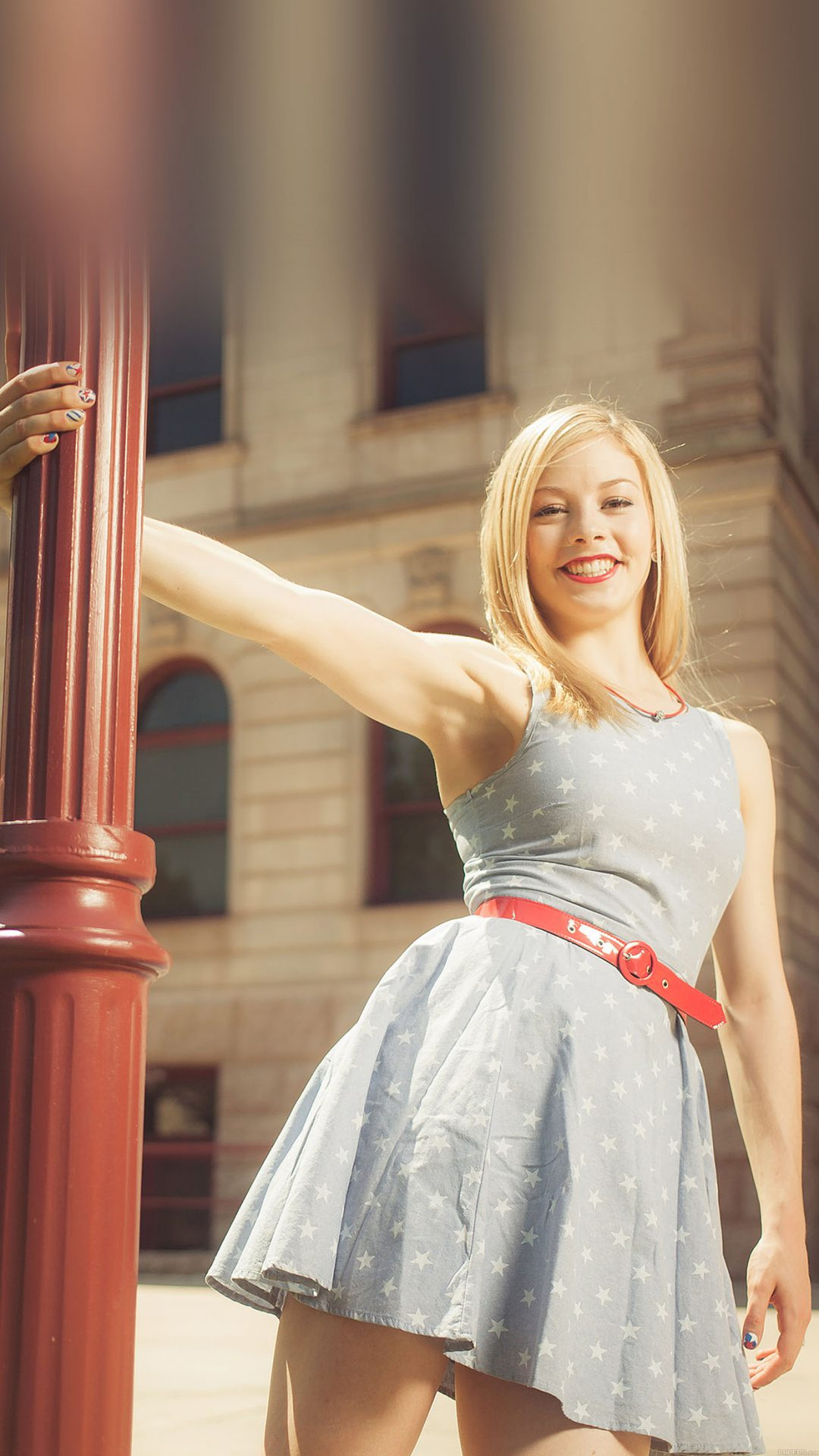 Wallpaper Gracie Gold Street Sports Girl Face