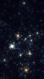 Wallpaper Hexamatic Galaxy Space