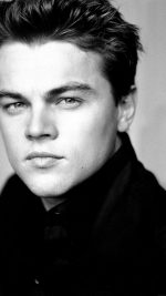 Wallpaper Leonardo Dicaprio Face Dark