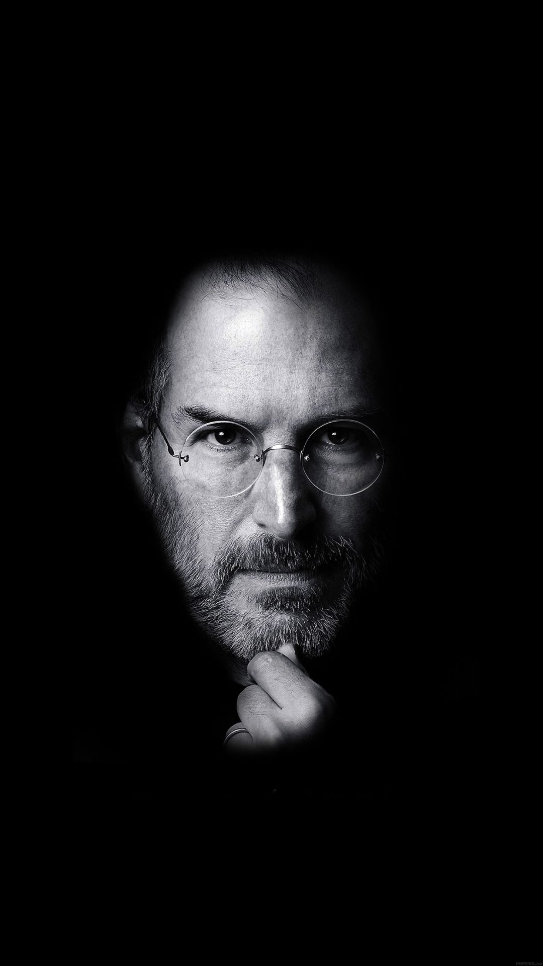 "Postada del ibro ""Steve Jobs"", de Walter Isaacson, proporcionada por la editorial Simon & Schuster. (Foto AP/Simon & Schuster)"
