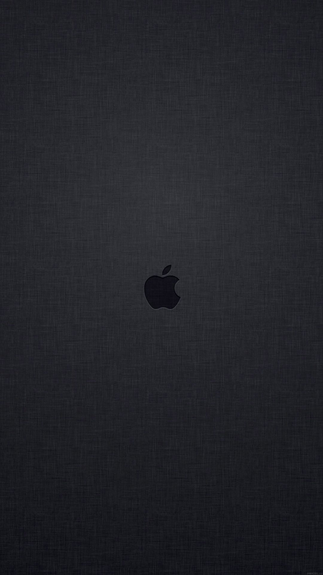 Wallpaper Tiny Apple Logo Dark