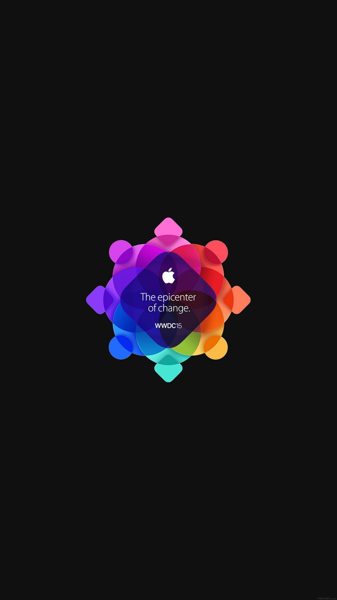 Wwdc 2015 Apple Art Pattern Dark